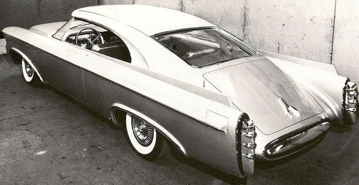 Chrysler Nоrseman, 1956 This one of a kind lay at the bottom of the ocean in the belly of the Andrea Doria, just off the coast of Mass.
