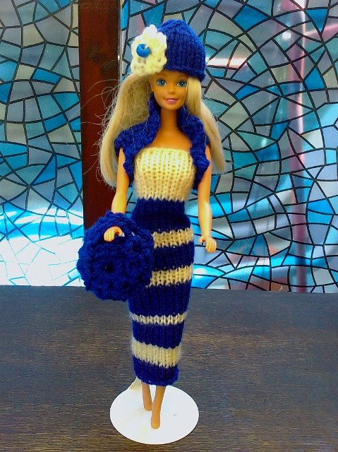 New Handmade  BARBIE DOLL CLOTHES  Fun style  by NANNYCHERYLKATE, $8.00