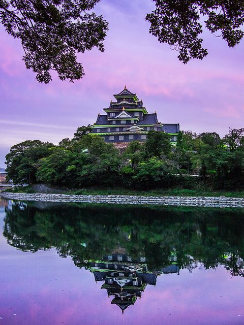 Okayama Castle PhoTones Works #2032 by PhoTones_TAKUMA on Flickr.