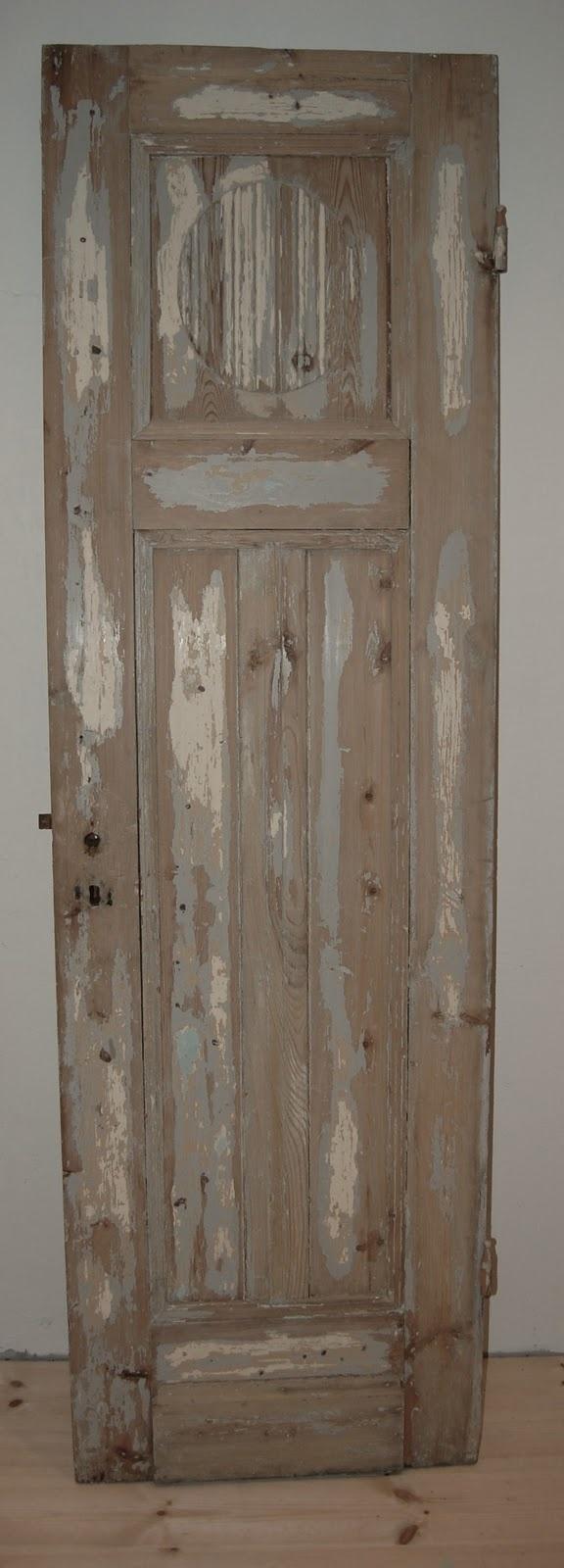 Gaaf voor op de slaapkamer deze oude deur..