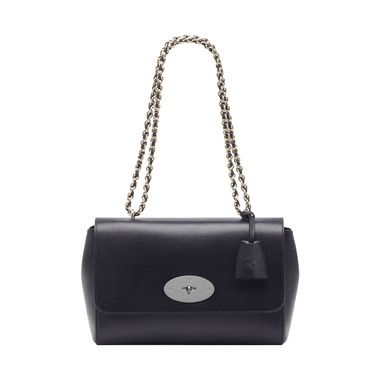 Mulberry+-+Medium+Lily+in+Midnight+Blue+Shiny+Goat