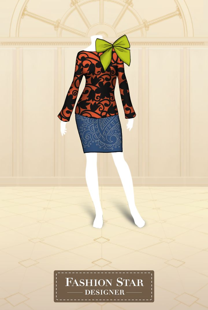 See what I created with Fashion Star Designer!