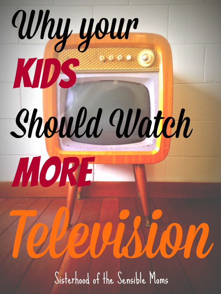 Why Your Kids Should Watch More TV - There comes a time where shielding kids has to come to an end. |Parenting Advice| Sisterhood of the Sensible Moms