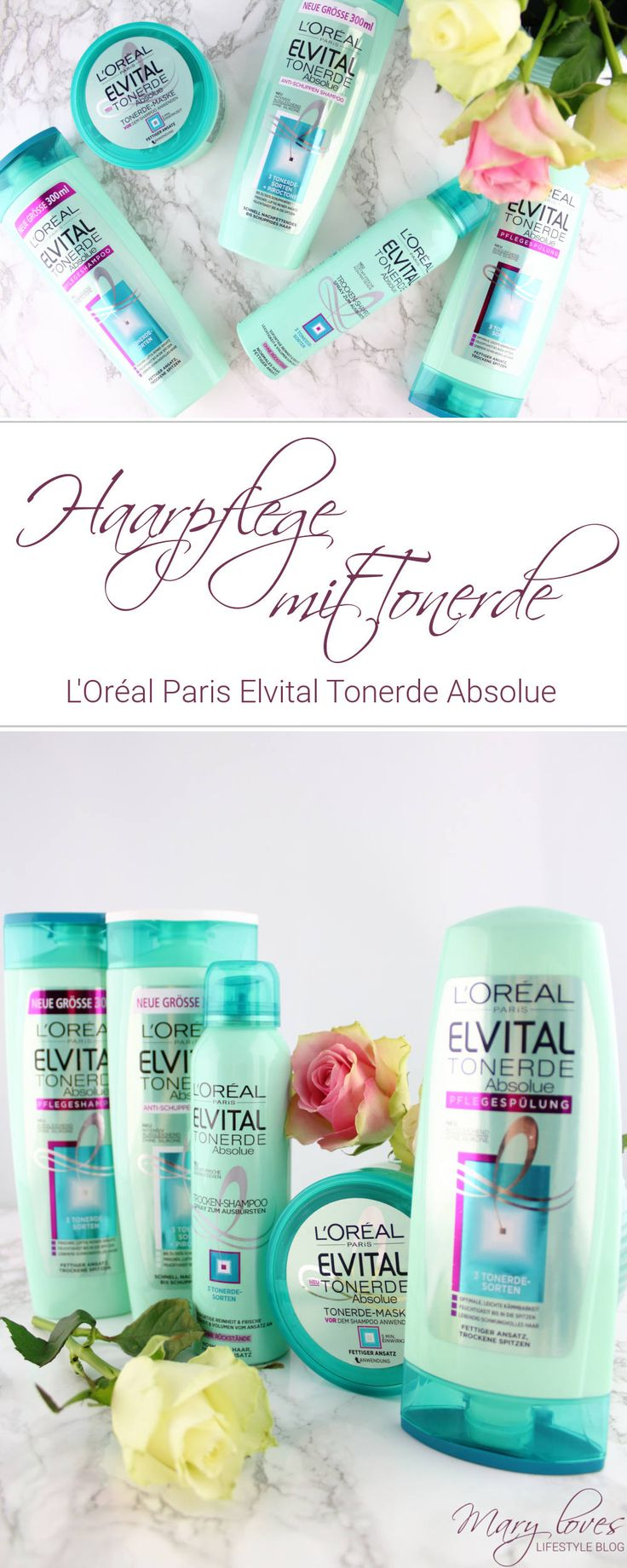 Haarpflege Mit Tonerde   Lu0027Oréal Paris Elvital Tonerde Absolue