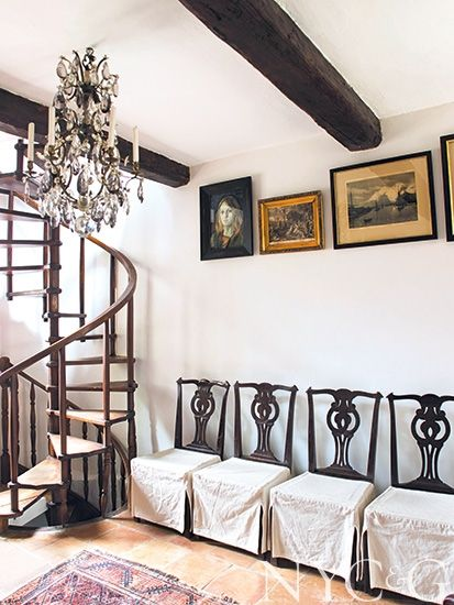 Bernt Heiberg and Bill Cummings's South of France Getaway Is an Understated Tribute to the Past - New York Cottages & Gardens - January 2015 - New York, NY. #NYC&G
