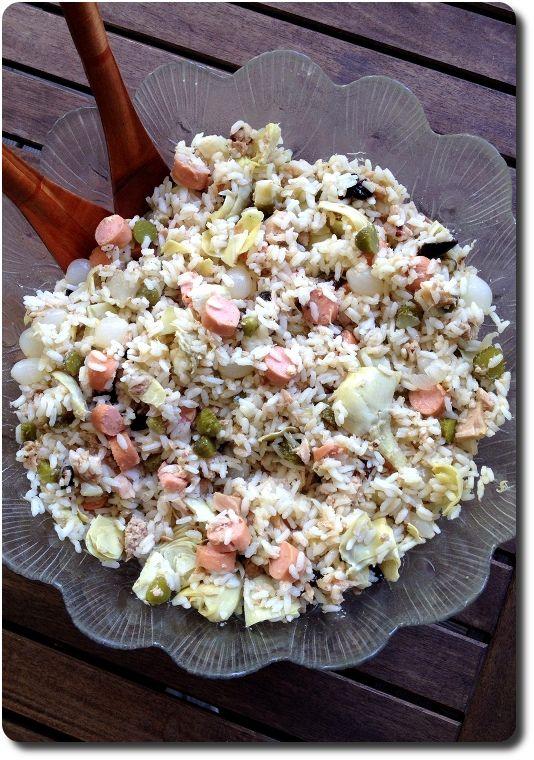 Salade de riz à l'italienne - precieux conseils sur la cuisson du riz