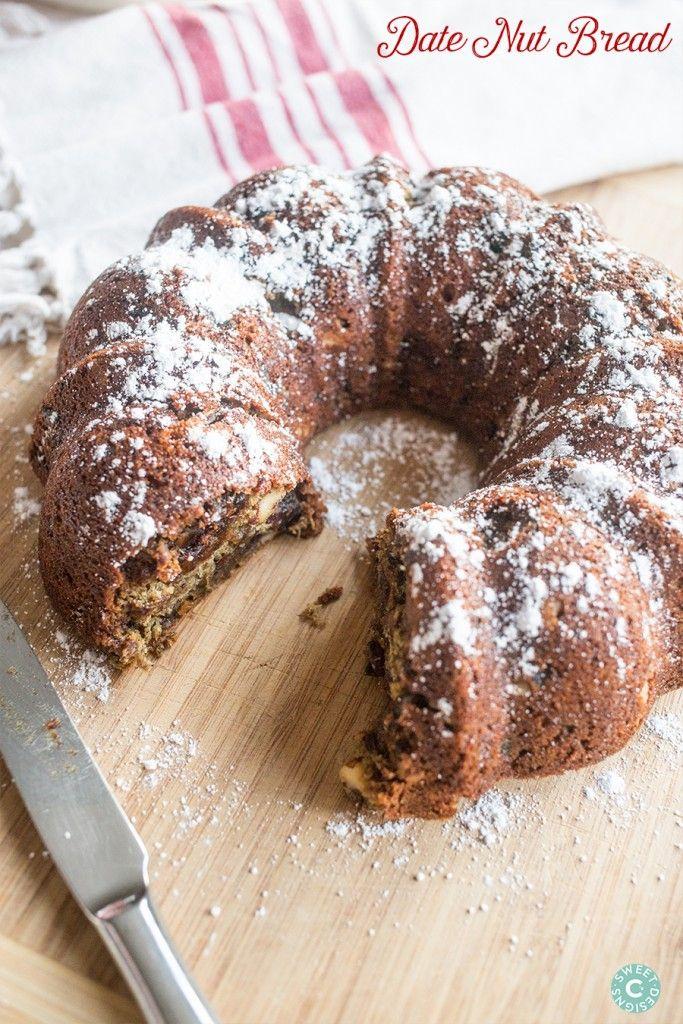 Date Nut Bread- my grandmas secret recipe for the most delicious bread ever!