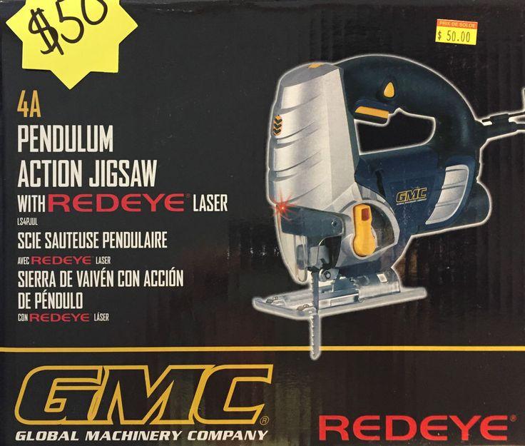 GMC Pendulum Action Jigsaw with REDEYE LASER LS4PJUL - Scie sauteuse Pendulaire | eBay