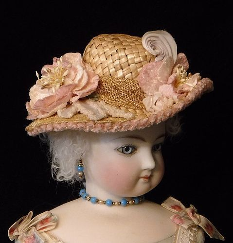 Straw Doll Hat  #unitedsellers