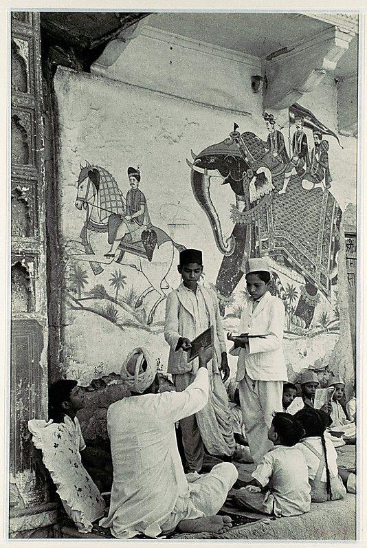 Pavement School, Jaipur, India  Henri Cartier-Bresson (French, Chanteloup-en-Brie 1908–2004 Montjustin)  Date: 1948, Rights and Reproduction: © Henri Cartier-Bresson / Magnum Photos