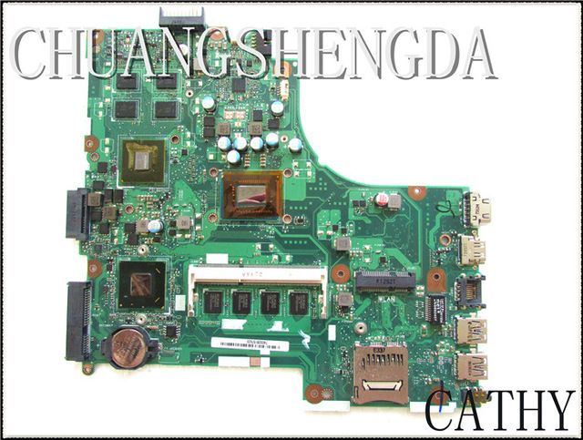 For Asus X450CA Laptop Motherboard X450CC REV:2.0 60NB01B0-MB4010(200) with CPU SR0XL(I5-3337U) MB7000 100% fully tested US $180.50 /piece click the link to buy http://goo.gl/PsgIHT