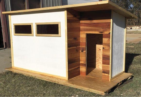 DIY Designer Hundehütte von MODERN BUILDS. (Do It Yourself ...