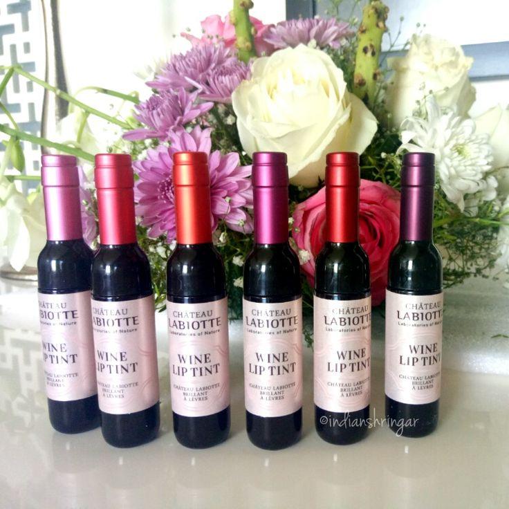 Chateau Labiotte Wine lip tints review