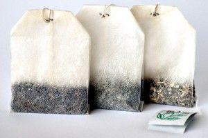 Que faire avec des sachets de thé usagés ?