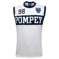 Portsmouth T-Shirt - White - Sleeveless. Portsmouth T-Shirt - White - Sleeveless. http://www.comparestoreprices.co.uk/t-shirts/portsmouth-t-shirt--white--sleeveless-.asp