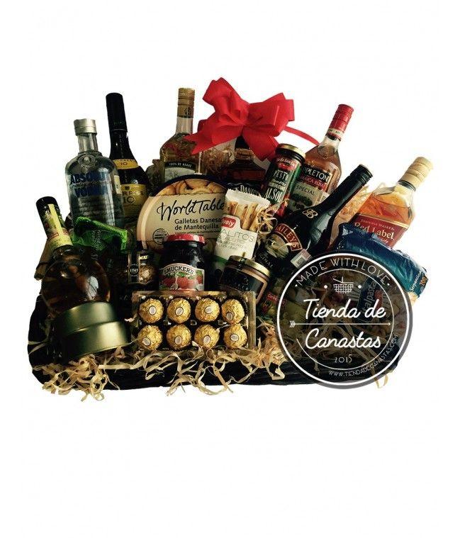 Canasta Navideña Master #canastasnavideñas #arconesnavideños #arconnavideño #canasta #diy #baskets #lovelybaskets #regalos #regalos navidad