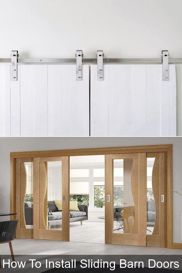 Cheap Interior Doors Tall Sliding Closet Doors Flat Panel Sliding Closet Doors In 2020 Barn Doors Sliding Ceiling Lights Barn Door