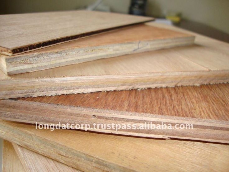 Commercial plywood hardwood plywood size 1220x2440 910 for Plywood sheathing thickness