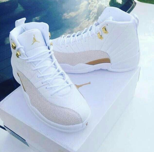 Gold and white Js