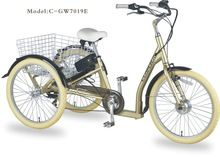 2015 new modle electric trike and tricycle / adult three-wheelers bike