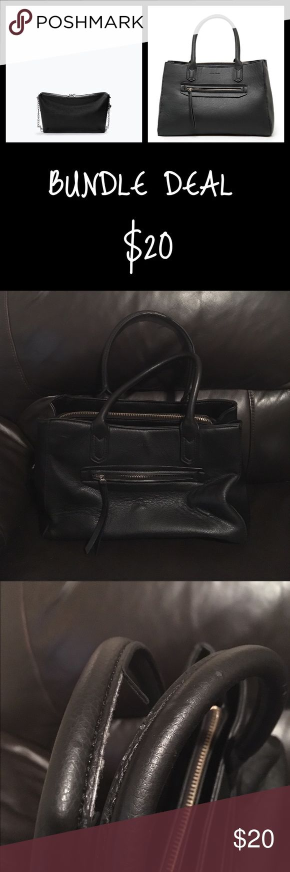 ⭐️BUNDLE DEAL⭐️ ZARA BAG & MANGO BAG Zara bag & MANGO bag Zara Bags