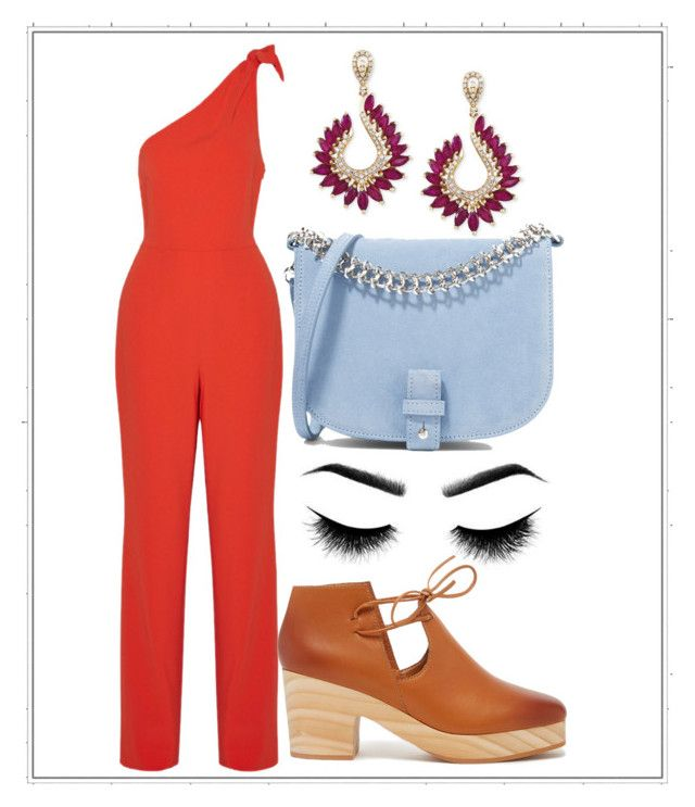 """Untitled #96"" by mayaroger on Polyvore featuring Diane Von Furstenberg, Kelsi Dagger Brooklyn, Effy Jewelry and Little Liffner"