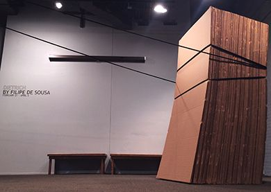 Exhibit at the Pensacola Museum of Art
