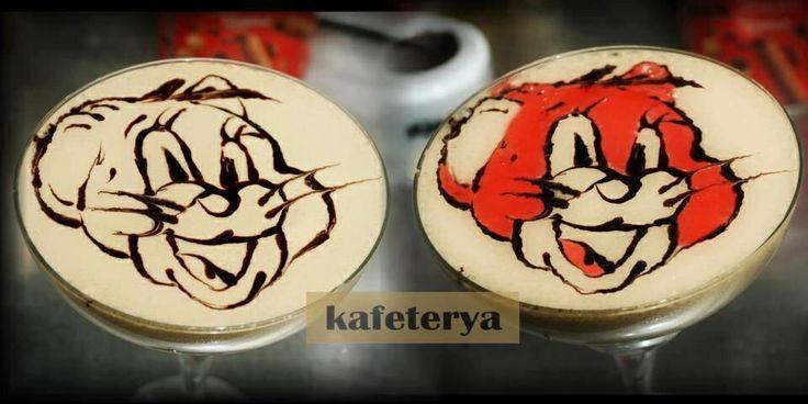 Latte art jerry