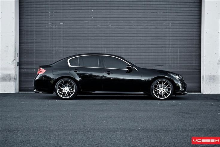 "Vossen Photoshoot- Concave 20"" CV2-Infiniti G37 sedan"