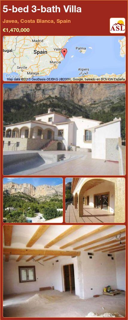 5-bed 3-bath Villa in Javea, Costa Blanca, Spain ►€1,470,000 #PropertyForSaleInSpain