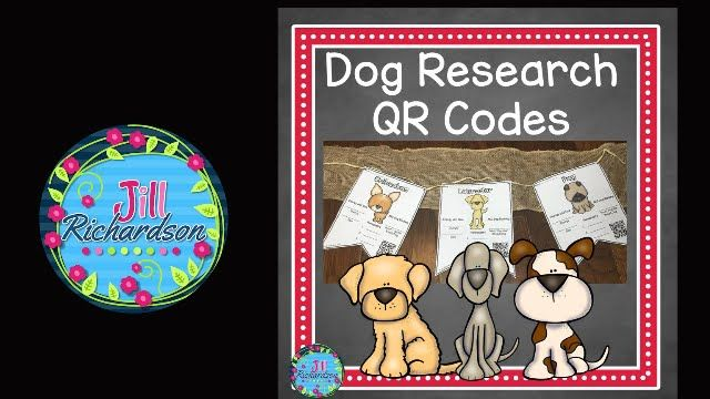Have fun Researching Dogs! Includes: 35 different dog breed pennants in color 35…