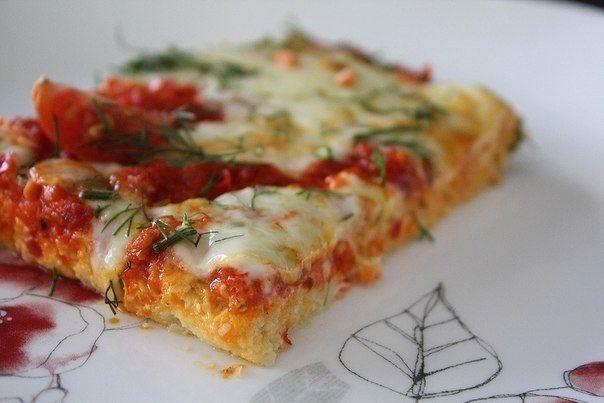 Низкокалорийная пицца на основе цветной капусты