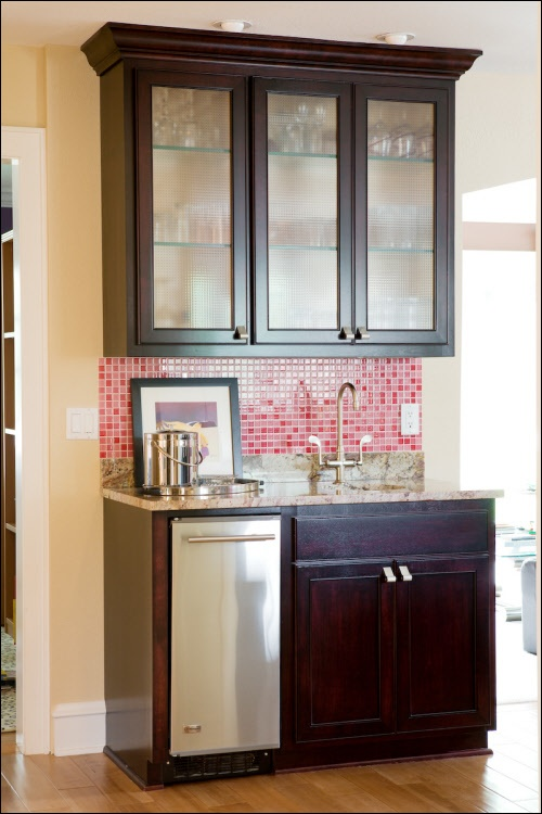 shelves in kitchen instead of cabinets cabinetry has glass shelving instead of wooden 9284