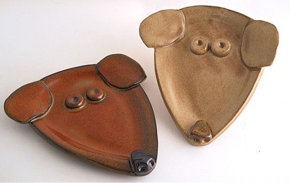 Dog Spoon Rest by mudworks on Etsy, $18.00