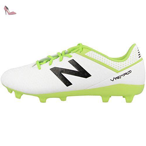 NEW BALANCE jsvrcf visaro Control FG Jnr–WT White - Multicolore - Multicolore, 03(35) - Chaussures new balance (*Partner-Link)