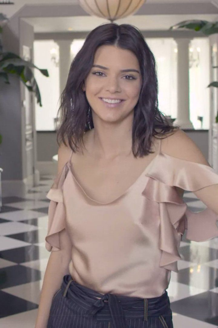 Pin for Later: Kendall Jenner Says She Wishes More People Would Focus on Her Ass