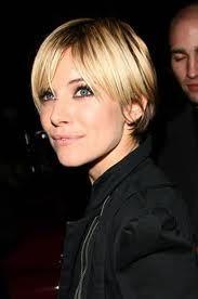 Sienna Miller short hair - Loved her hair like this for Factory Girl.