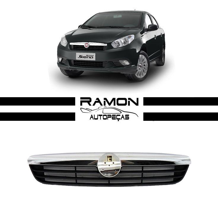 Grade Radiador Fiat Grand Siena 2013 2014 2015 Friso Cromado  Entre em contato conosco: Fone: (11) 2369-8510 WhatsApp: (11) 96990-0108  Acesse nossa loja: www.ramonautopecas.com  #grade #radiador #fiat #grand #siena #friso #cromado #car #cars #carros #supercar #auto #automotive #peçasnovas #farol #lanterna #milha #pisca #parabarro #parachoque #ramon #autopeças #ramonautopeças #bosquedasaúde #sãopaulo #brasil