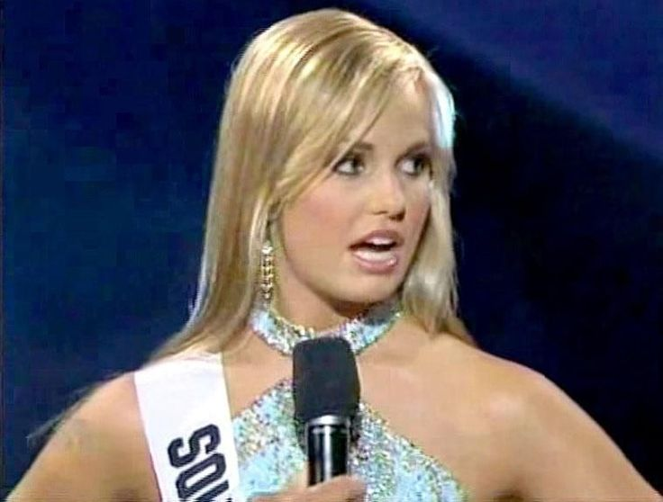 "Former Miss South Carolina Teen USA Caitlin Upton did not receive a warm welcome back home following her infamous 2007 pageant flub.  The question, which was asked by Friday Night Lights actress Aimee Teegarden, was why she thought a fifth of Americans couldn't locate the U.S. on a world map.  ""I personally"