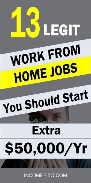 13 Legitimate Work From Home Jobs You Should Start…