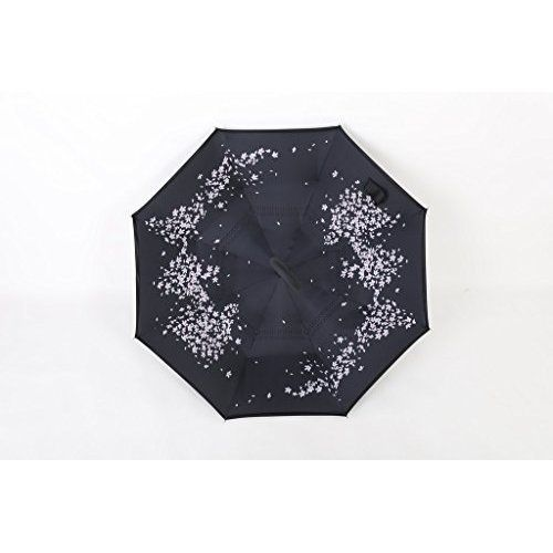 UV Sun Protection Umbrella Rain Folding Windproof Compact Travel Anti Car Layer