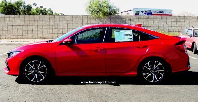 2020 Honda Civic Sedan Si Review And Rumor