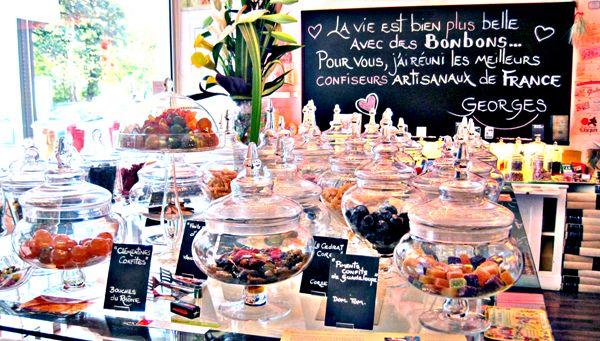 Bonbon au Palais, the cutest candy shop in Paris
