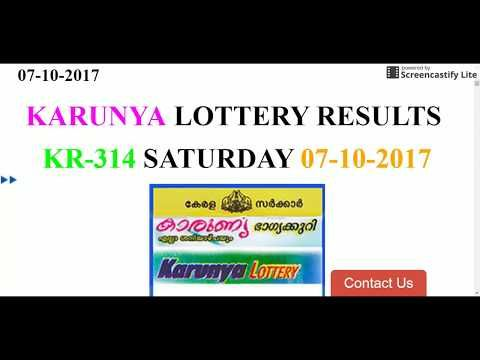 KARUNYA LOTTERY KR-314 RESULTS SATURDAY 07-10-2017 https://www.keralalotteryresult.online - (More info on: https://1-W-W.COM/lottery/karunya-lottery-kr-314-results-saturday-07-10-2017-httpswww-keralalotteryresult-online/)