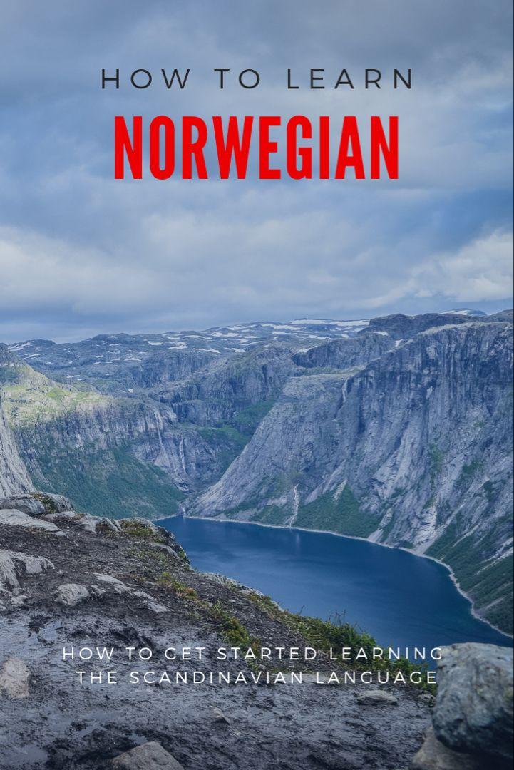 How To Learn Norwegian In 2020 Norway Travel Norwegian Norway