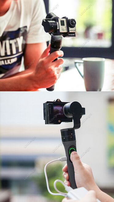 $229.99 Snoppa Go Handheld 3-Axis Camera Gimbal Stabilizer for GoPro Hero 3/ 3+ / 4  BY FREE SHIPPING!