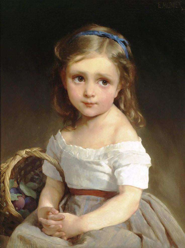 VICTORIAN CHILD | VICTORIAN STYLE PAINTINGS OF CHILDREN ...