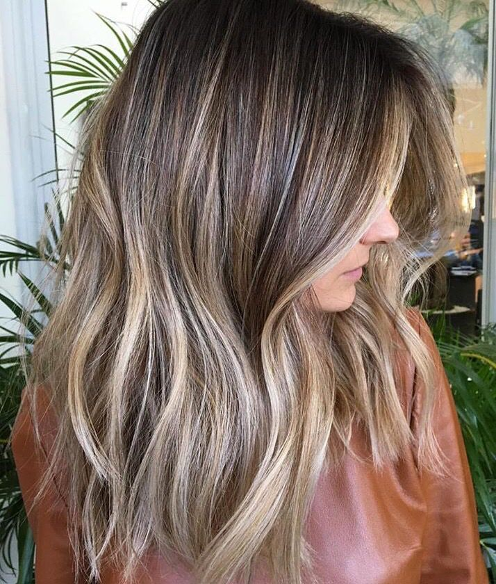 Image Result For Face Framing Highlights Ash Brown Brown Hair