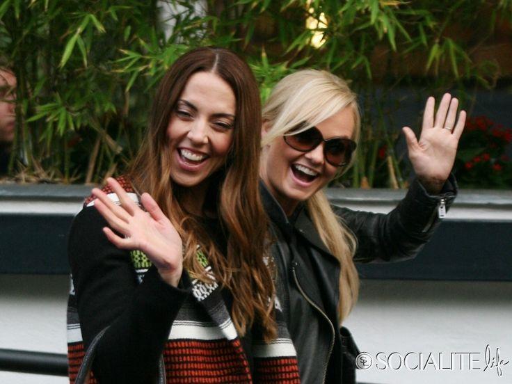 Emma Bunton and Mel C. Stop By ITV Studios - Emma Bunton Mel - 6