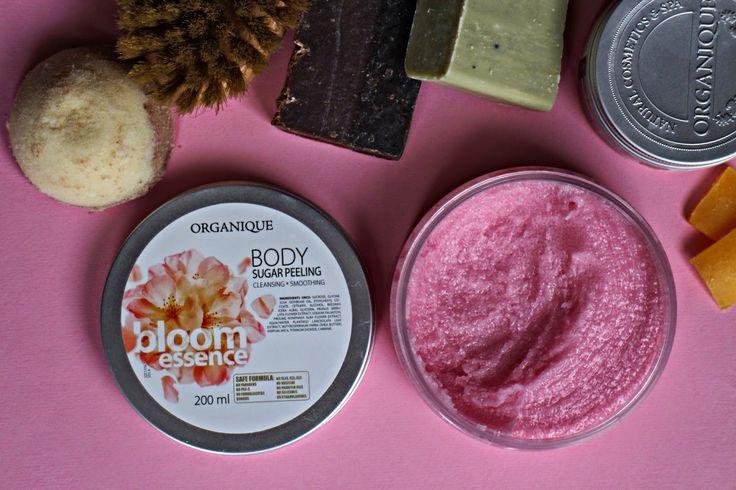 lawendlove: Cukrowy peeling do ciała Organique Bloom Essence
